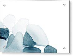 Fresh Glass Stones Acrylic Print