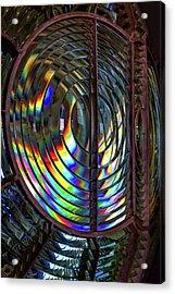 Fresnel Lens Point Arena Lighthouse Acrylic Print