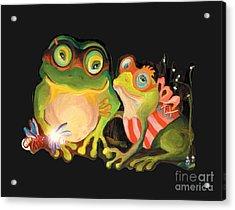 Frogs Overlay  Acrylic Print