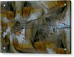 Acrylic Print featuring the digital art From Fall To Winter by Roy Erickson