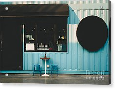 Front Of Coffee Shop Acrylic Print