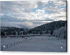Frosted Sunrise 1 Acrylic Print
