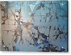 Frozen City Of Ice Acrylic Print