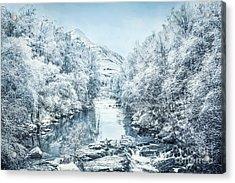 Frozen Memories Acrylic Print
