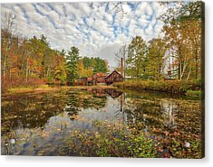 Acrylic Print featuring the photograph Fryes Measure Mill by Juergen Roth