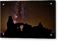Acrylic Print featuring the photograph Galactic Turret Arch by Andy Crawford