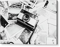 Gallery In Monochrome Acrylic Print
