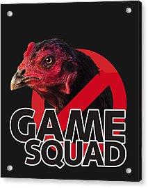 Game Squad Acrylic Print