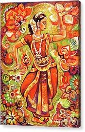 Ganges Flower Acrylic Print