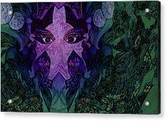 Garden Eyes Acrylic Print