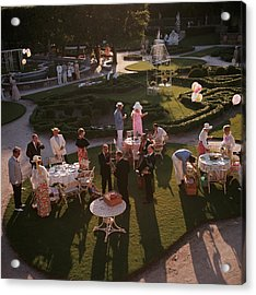 Garden Party Acrylic Print by Slim Aarons
