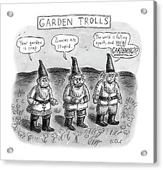 Garden Trolls Acrylic Print