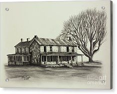 Garred House Acrylic Print