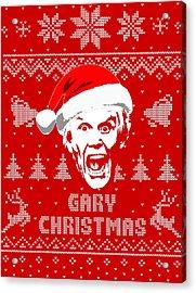 Gary Busey Christmas Shirt Acrylic Print
