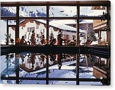 Gasthof Post Pool Acrylic Print