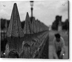 Gate, Person Acrylic Print