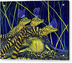 Gator Nursery  Acrylic Print