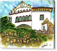 Gaudi's Place In Barcelona Acrylic Print