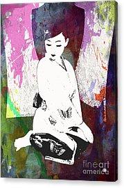 Object Of  Art  Acrylic Print by Steven Digman