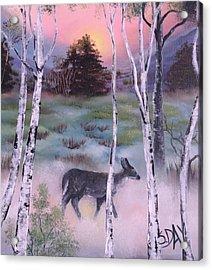 Gentle Mist Acrylic Print