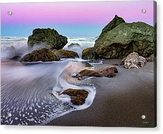 Acrylic Print featuring the photograph Gentle Waves by Leland D Howard