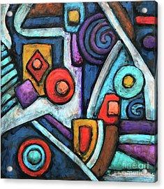 Geometric Abstract 4 Acrylic Print