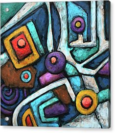 Geometric Abstract 6 Acrylic Print