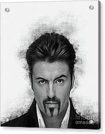 George Michael Acrylic Print
