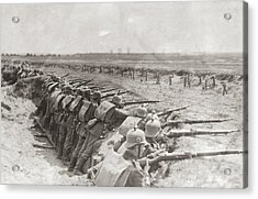 German Trench Acrylic Print by Fpg