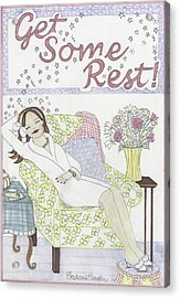 Get Some Rest Acrylic Print