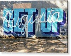 Get Up Augusta Ga Mural  Acrylic Print