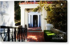Getty Exterior Landscape Architecture  Acrylic Print