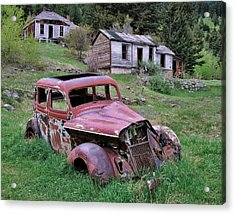 Ghost Town Acrylic Print by Leland D Howard