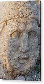 Giant Head Of Heracles,  Tumulus Acrylic Print