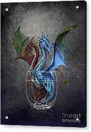 Gin And Tonic Dragon Acrylic Print