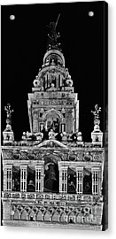 Giralda Tower In Monochrome. Seville Acrylic Print