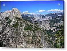 Acrylic Print featuring the photograph Glacier Point Overlook by Dawn Richards