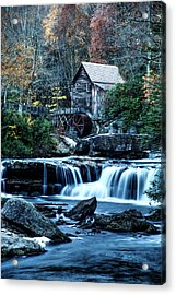 Acrylic Print featuring the photograph Glade Creek Grist Mill by Pete Federico