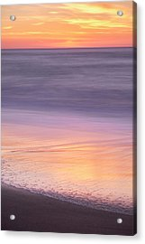Acrylic Print featuring the photograph Gleneden Beach Sunset by Whitney Goodey