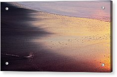 Acrylic Print featuring the photograph Gleneden Glow by Whitney Goodey