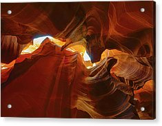 Acrylic Print featuring the photograph Antelope Jagged Beauty by Mark Duehmig