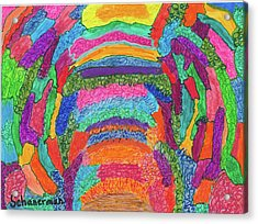 God Is Color - The Original Acrylic Print