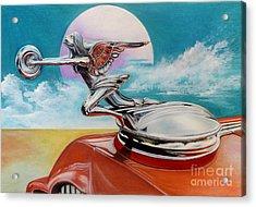Goddess Of Speed Acrylic Print