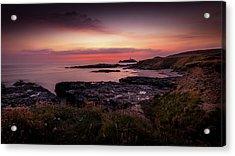 Godrevy Sunset - Cornwall Acrylic Print