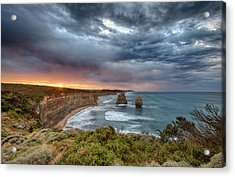 Acrylic Print featuring the photograph Gog And Magog by Chris Cousins