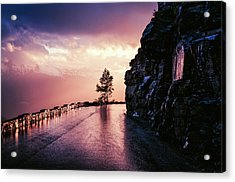 Going To The Sun Road Acrylic Print