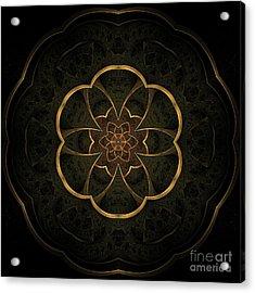 Gold Inlay Acrylic Print