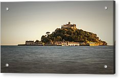 Golden Hour At St Michael's Mount Acrylic Print