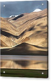 Golden Light Tso Moriri, Karzok, 2006 Acrylic Print