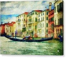 Gondola Ride Acrylic Print